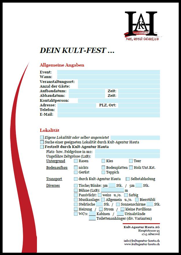 Event-Dienstleistungen - Kult-Agentur Hauta